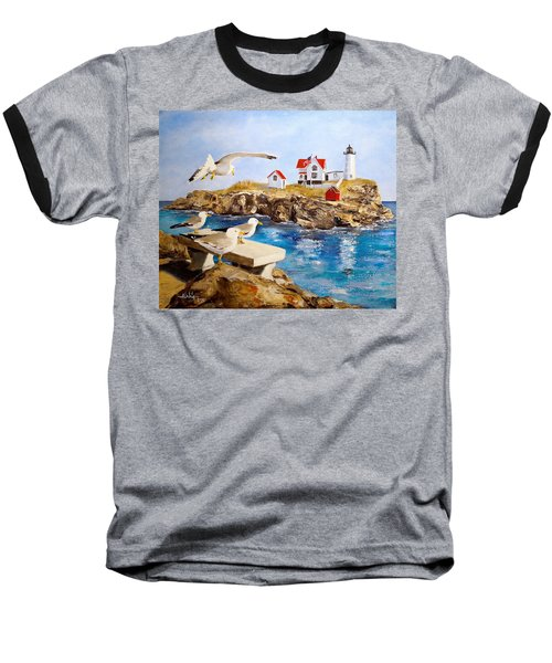 Nubble Light Baseball T-Shirt