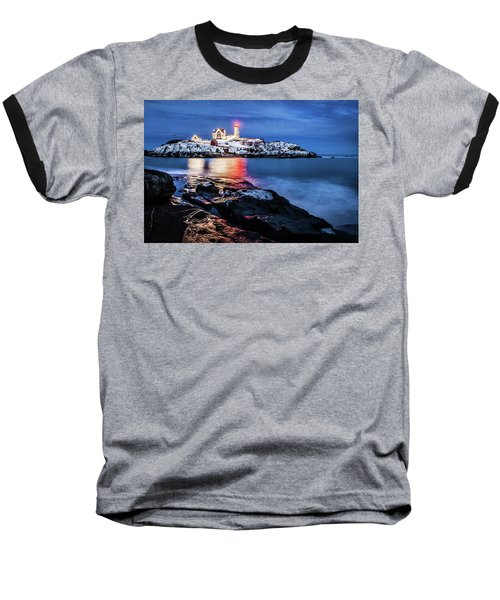 Nubble Lights Baseball T-Shirt