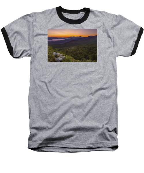 Nubble Sunrise Baseball T-Shirt