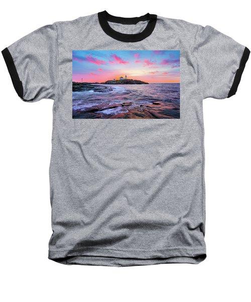 Nubble Sunrise Surprise Baseball T-Shirt