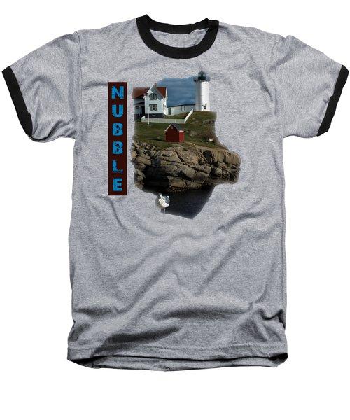 Nubble T-shirt Baseball T-Shirt by Mim White