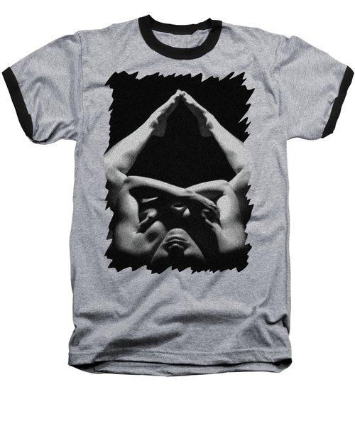 Nude Art Baseball T-Shirt