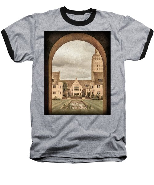 Oxford, England - Nuffield College Baseball T-Shirt