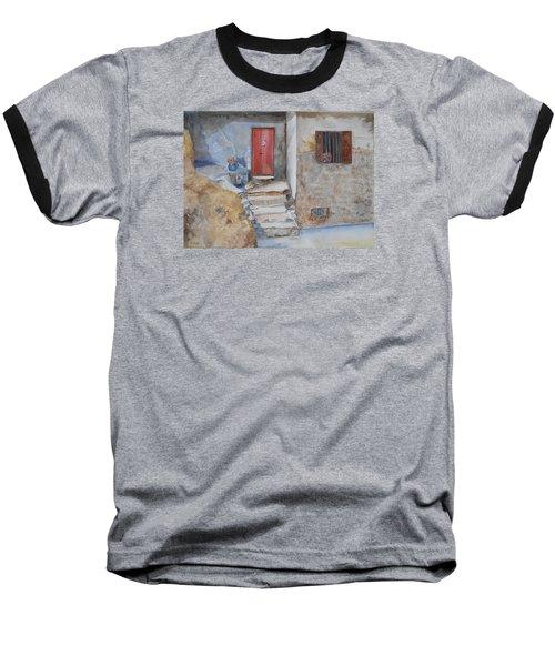 Number 3 Baseball T-Shirt by Christine Lathrop