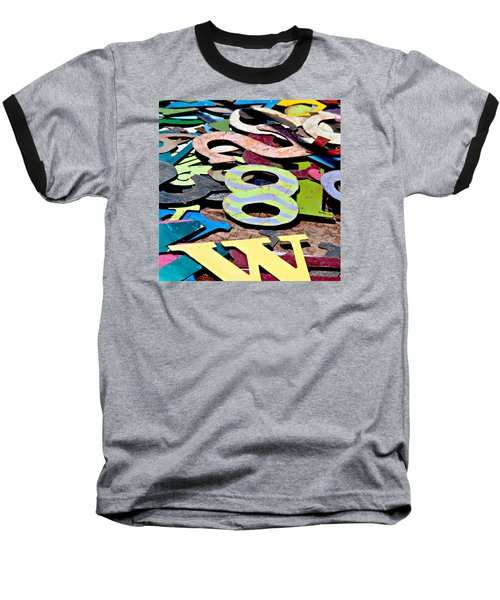 Number 8 Baseball T-Shirt by Art Block Collections