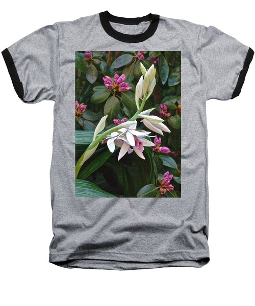 Nun Orchid Baseball T-Shirt