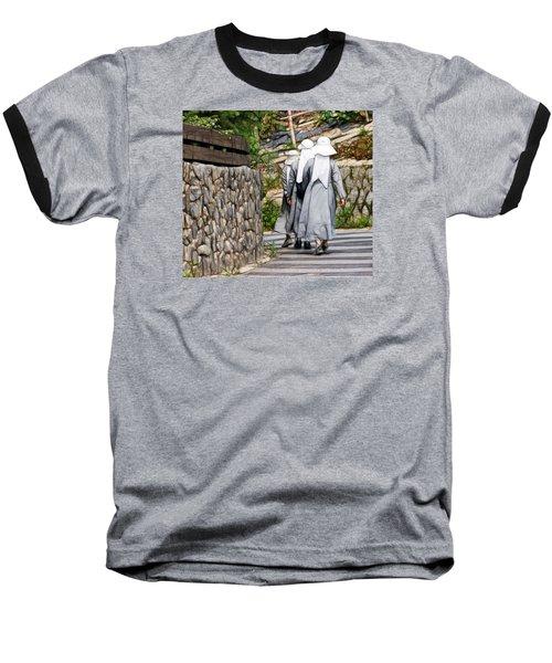 Nuns In A Row Baseball T-Shirt