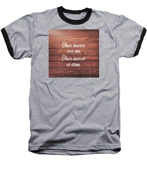 Nuptial Note Baseball T-Shirt