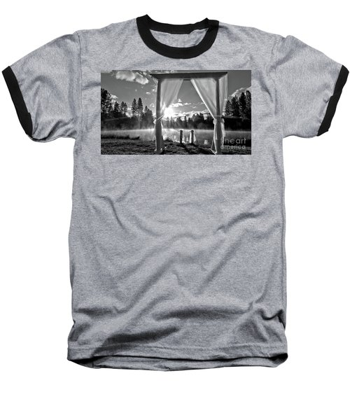 Baseball T-Shirt featuring the photograph Nuptials by Julia Hassett