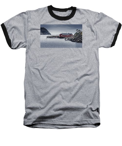 Nusfjord Rorbu Baseball T-Shirt