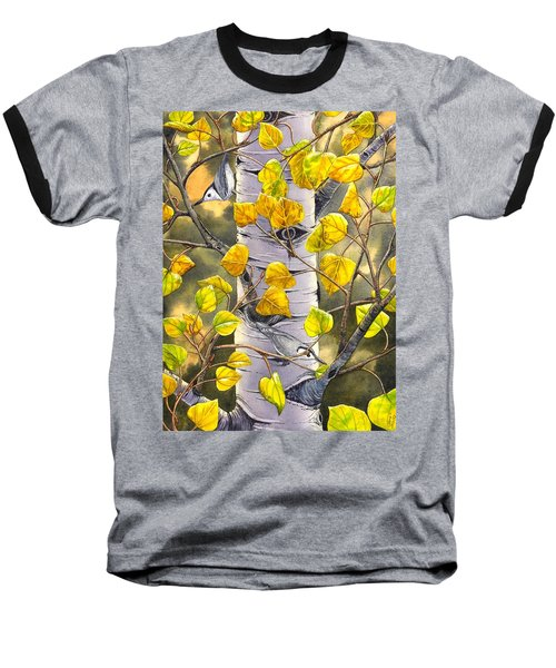 Nuthatches Baseball T-Shirt