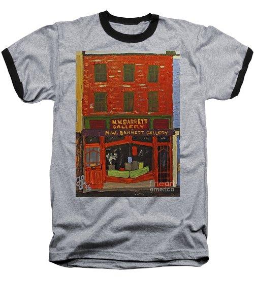 N.w.barrett Gallery Baseball T-Shirt