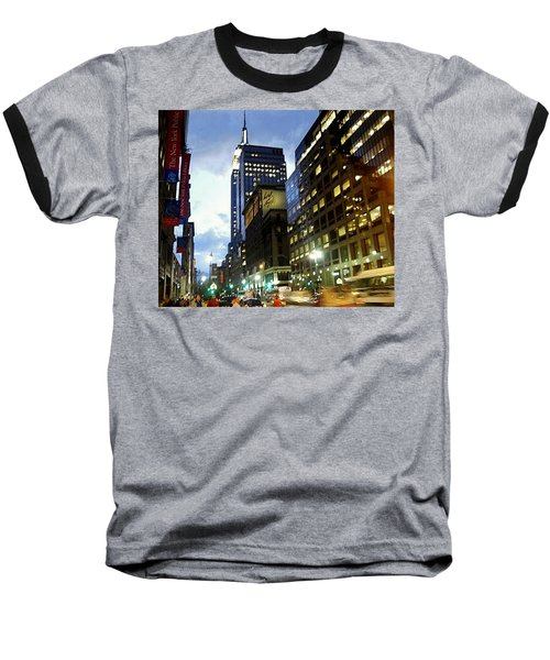 Nyc Fifth Ave Baseball T-Shirt