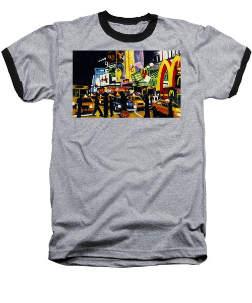 Nyc II The Temple Of M Baseball T-Shirt