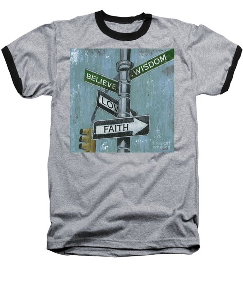 Nyc Inspiration 2 Baseball T-Shirt by Debbie DeWitt