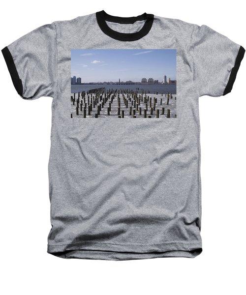 New York City Piers  Baseball T-Shirt