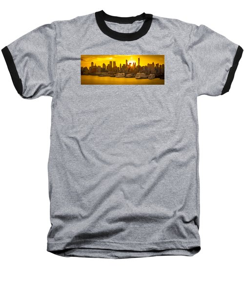Nyc Ports Baseball T-Shirt