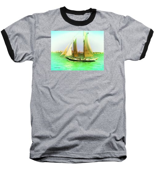 Nyc Sailing Baseball T-Shirt