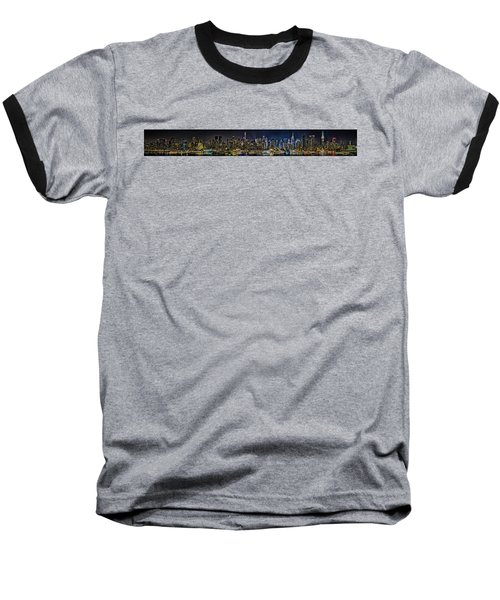 Baseball T-Shirt featuring the photograph NYC by Theodore Jones