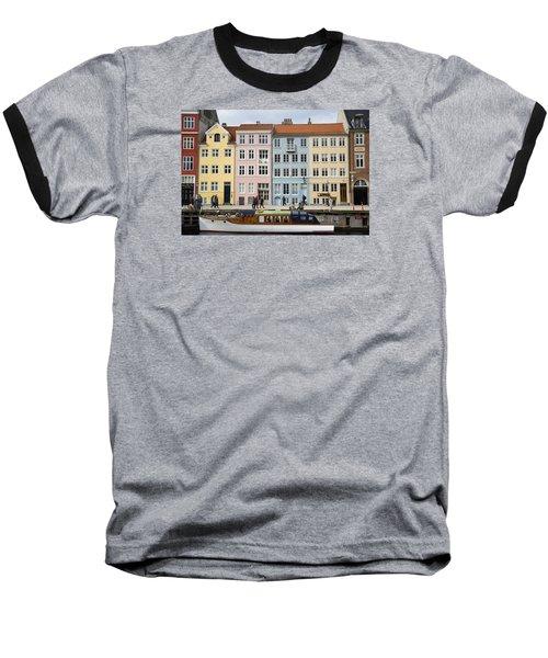 Nyhavn Pastels Baseball T-Shirt