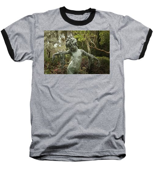 Baseball T-Shirt featuring the photograph Wood Nymph by Jessica Brawley