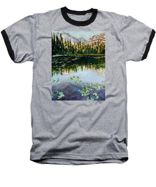 Nymph Lake Baseball T-Shirt