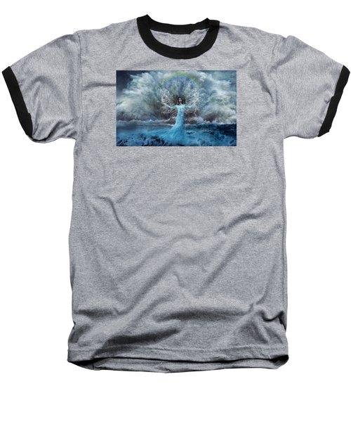 Nymph Of  The Water Baseball T-Shirt