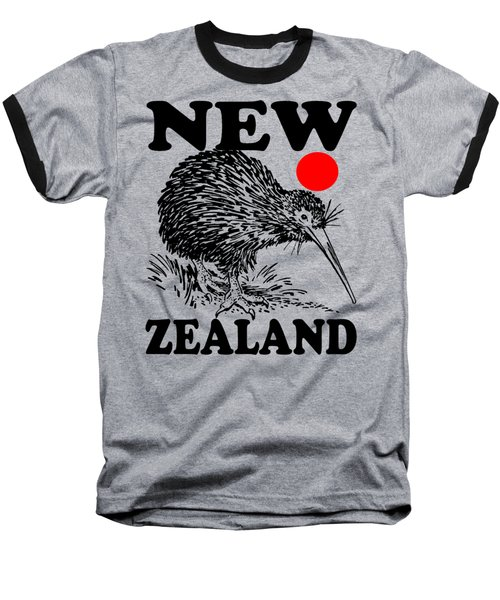 Nz-kiwi Baseball T-Shirt