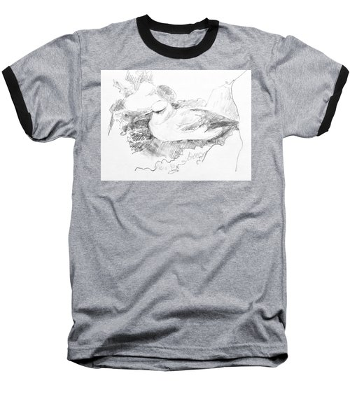 New Zealand White-capped Mollymawk Baseball T-Shirt