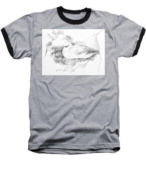 New Zealand White-capped Mollymawk Baseball T-Shirt