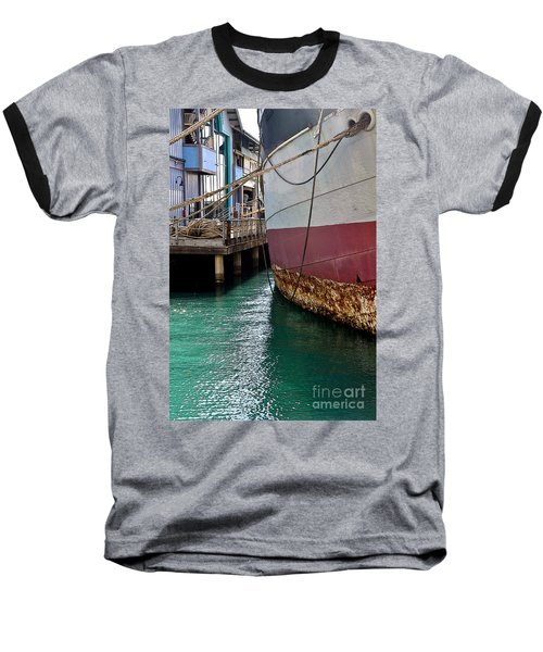Baseball T-Shirt featuring the photograph Oahu Harbor by Gina Savage