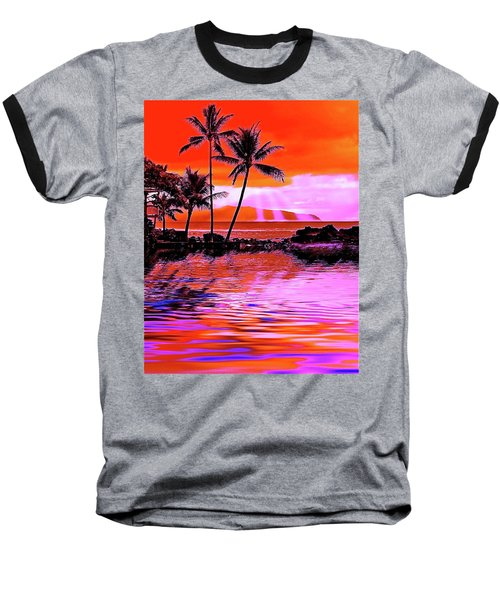 Oahu Island Baseball T-Shirt