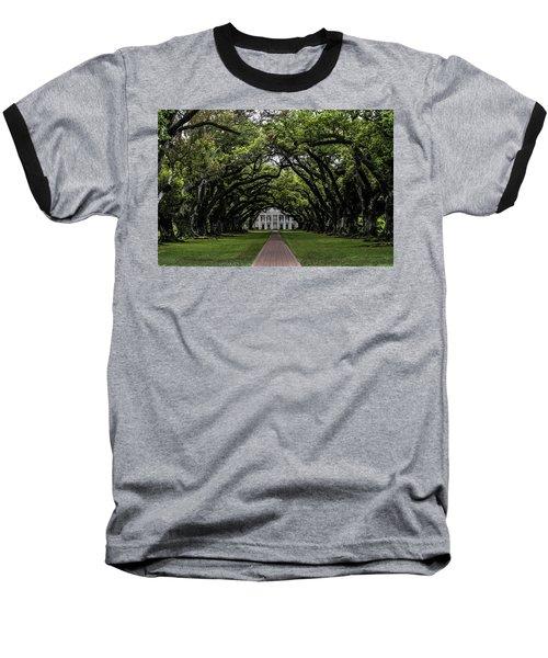Oak Alley Plantation, Vacherie, Louisiana Baseball T-Shirt