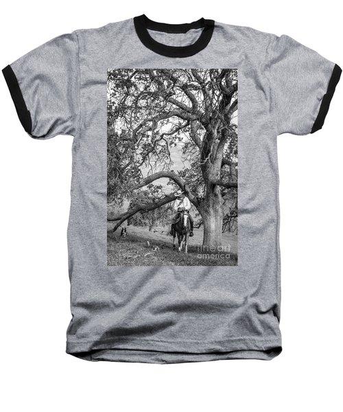 Oak Arches Baseball T-Shirt by Diane Bohna