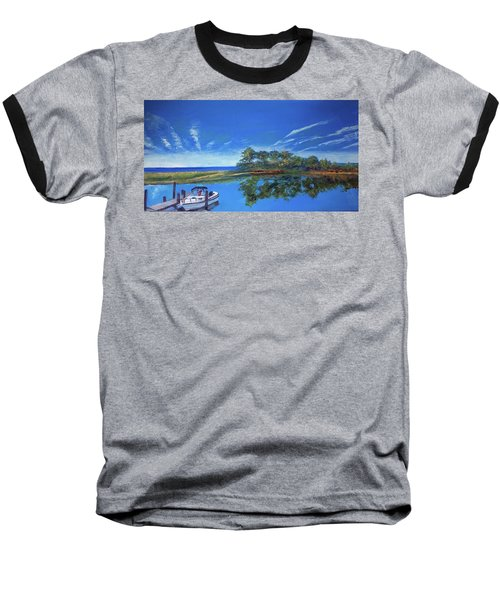 Oak Bluffs With Grady White Baseball T-Shirt