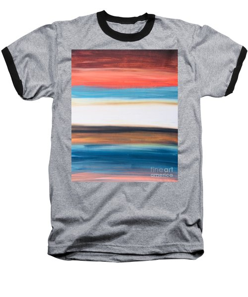 Oak Creek #29 Southwest Landscape Original Fine Art Acrylic On Canvas Baseball T-Shirt