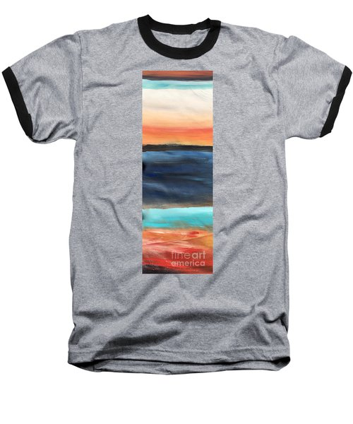 Oak Creek #31 Southwest Landscape Original Fine Art Acrylic On Canvas Baseball T-Shirt