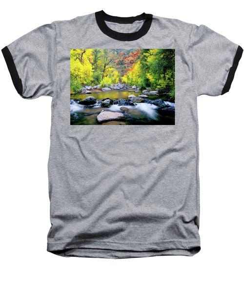 Oak Creek Canyon Baseball T-Shirt