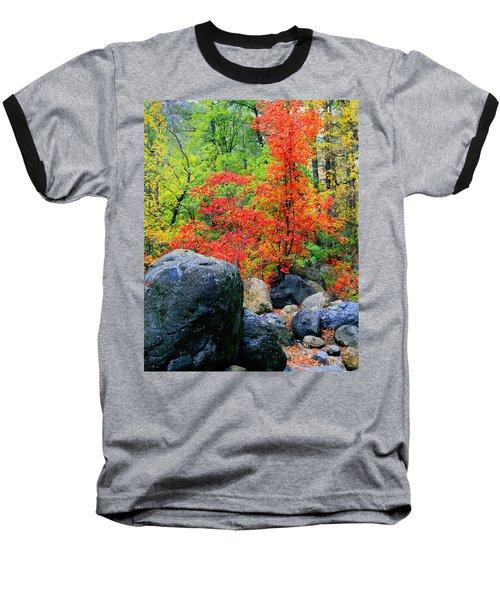 Oak Creek Canyon Red Baseball T-Shirt