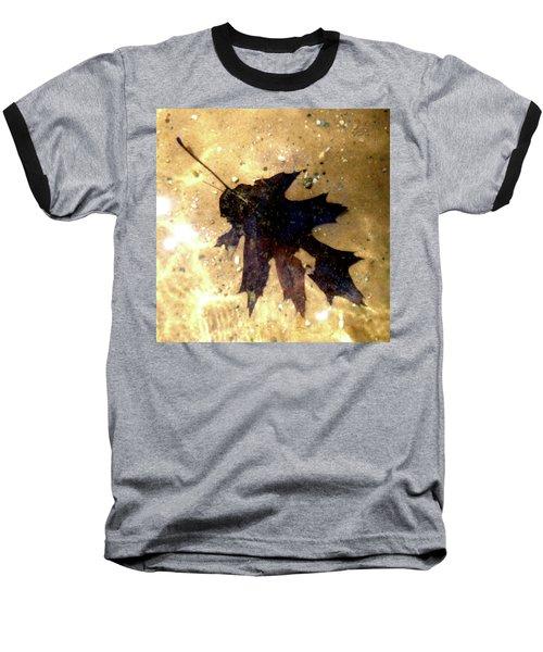Oak Leaf Underwater Baseball T-Shirt by Tara Hutton