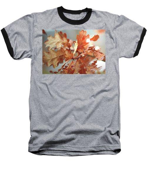Oak Leaves In Autumn Baseball T-Shirt