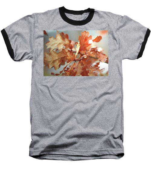 Oak Leaves In Autumn Baseball T-Shirt