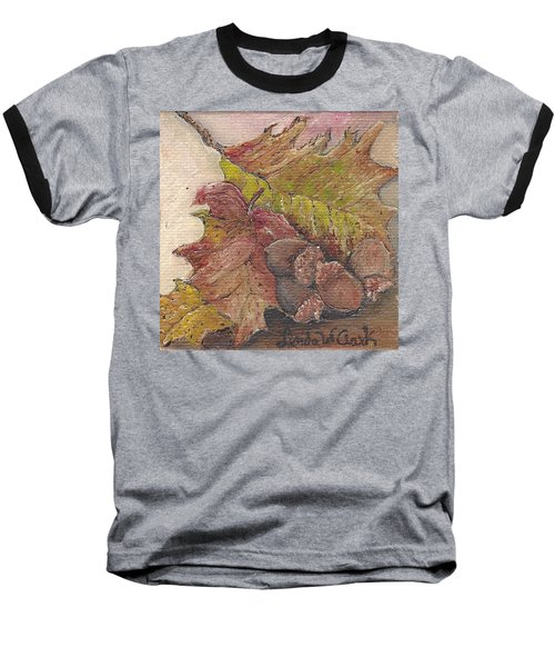 Oak Leaves Baseball T-Shirt
