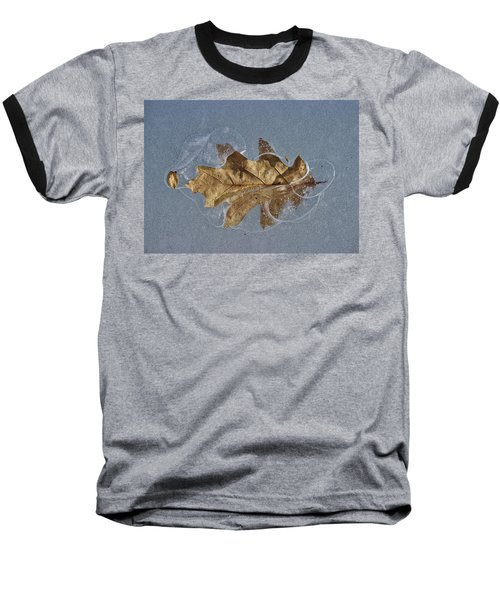 Oak On Ice Baseball T-Shirt