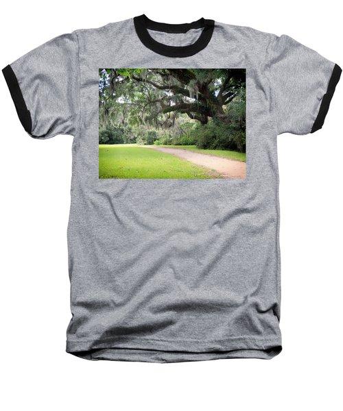 Oak Over The Trail Baseball T-Shirt