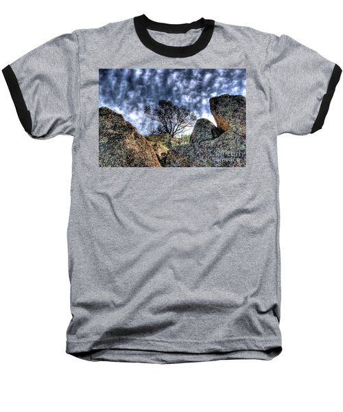 Oak Tree Baseball T-Shirt by Jim and Emily Bush