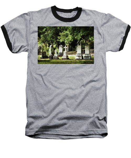 Oakdale Cemetery Baseball T-Shirt by Denis Lemay