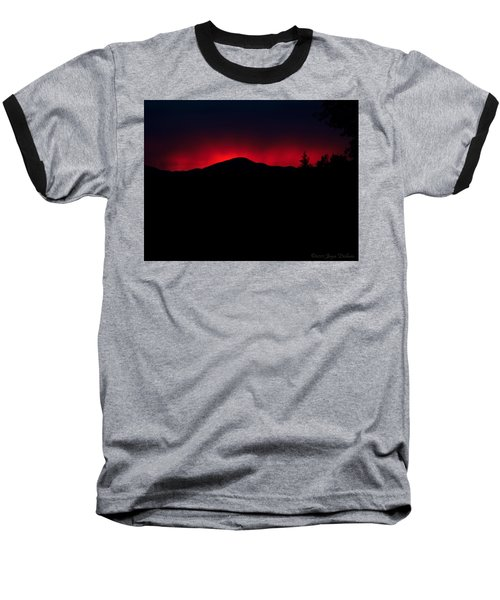 Oakrun Sunset 06 09 15 Baseball T-Shirt