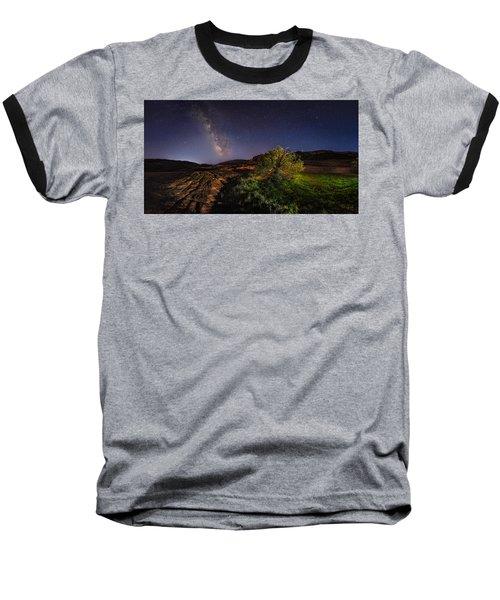 Oasis Milky Way Baseball T-Shirt