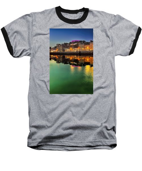 Oban By Night Baseball T-Shirt